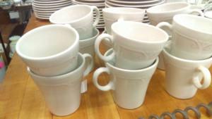 Melrose 6-3/8 Ounce Mug & Saucer