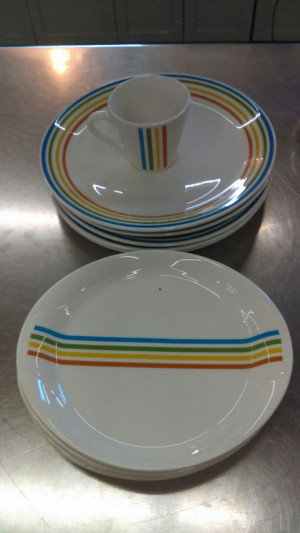 "Spectrum 9-1/8"" Great Plate Platter"