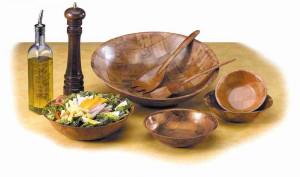 "Wovenwood Bowls 18"", Woodweave"