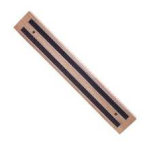"Magnetic Bar, 24"" O.L., Wooden base"