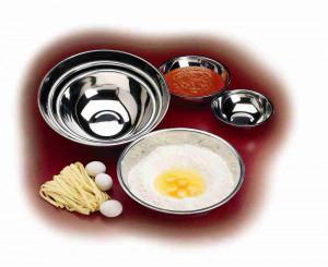 Mixing bowl, 3 qt, S/S