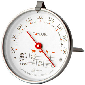 "Classic 2 3/4"" Dial Meat Thermometer"