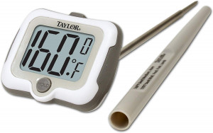 Adjustable head Digital Thermometer, -40 to 450