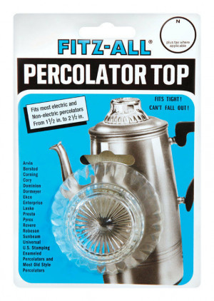 "Percolator replacement top, 1.5""-2.5"""
