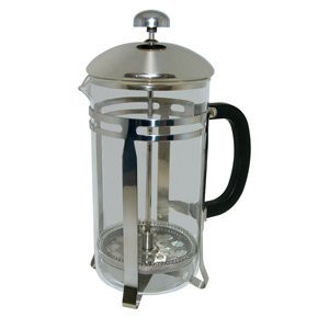 French press, 33 oz, 1 liter, Chrome