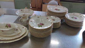 Syracuse China Victoria Gravy Server