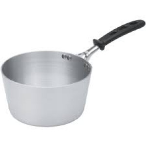 2.75 qt Aluminum sauce pan w/ Grip handle