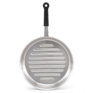 "Grill pan, 12"" diameter, Tribute, 3-ply, S/S, 6 qt"