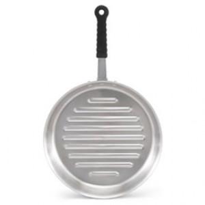 "Grill pan, 12"" diameter, Tribute, 3-ply, S/S, 6 qt"