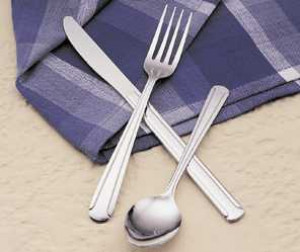 Dominion salad fork, Medium weight, 2dz/box