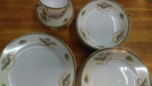 "Noritake Romance 10"" Dinner Plate"
