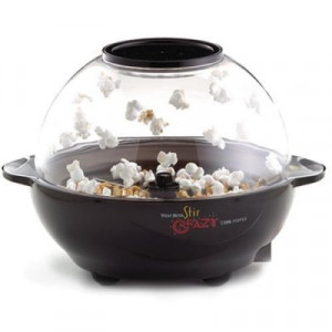 Stir crazy 6 qt popcorn popper