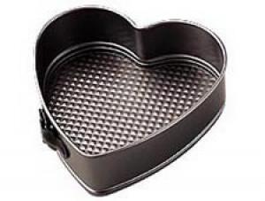 """9"""" Heart Springform Pan, Nonstick"""