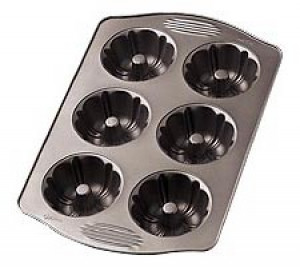 "Mini Fluted Tube tray 4 1/8"" x 2"""