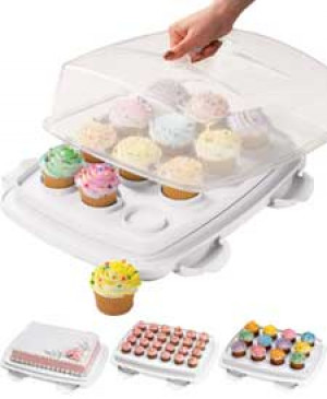 Ultimate 3 in 1 caddy, Cake carrier