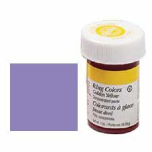 Violet icing color