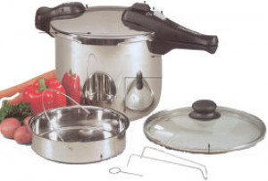 10 qt pressure cooker s/s