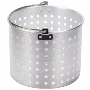 20 qt Perforated Steamer basket