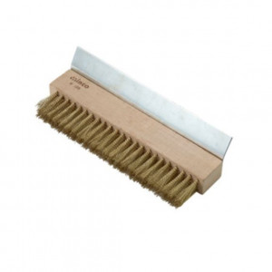 "Pizza Oven Oven Brush, 10"" wide"