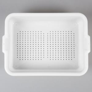"Bus box strainer, 15""x20""x5"", White"
