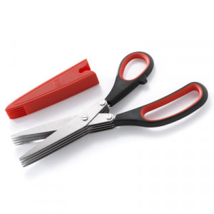 Multi-blade Herb Scissors and shears