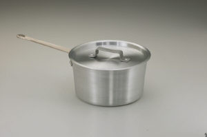 4.5 qt Tapered Sauce pan, Aluminum