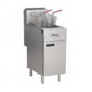 Propane LP gas fryer 90,000 BTU