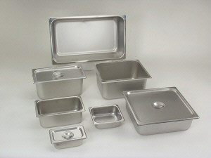 1/6 size solid Steam pan cover