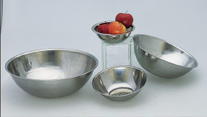 Mixing bowl, 1.5 qt, stainless
