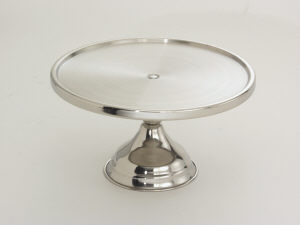 """Cake Pastry Pizza Stand, 13-1/2"""" dia."""