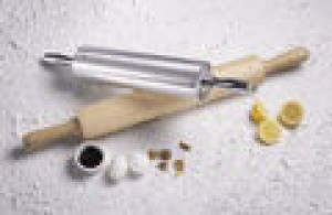 "Rolling pin, 15"" wide, Aluminum"