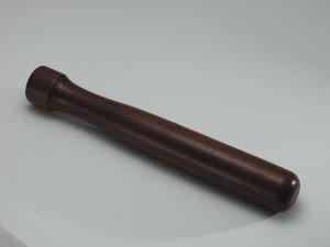 """Muddler, 8"""", wood"""