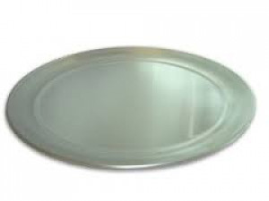 "Heavy Duty Pizza Pan, 17"" aluminum, Made in the US"