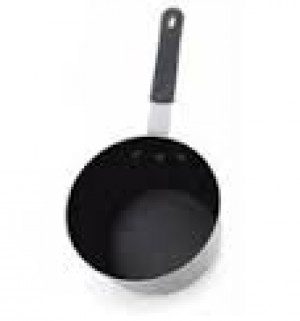 Nonstick Aluminum 2.75 qt sauce pan. Made in USA