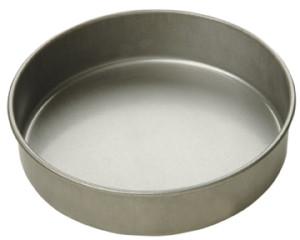 "9"" round x 2"" deep cake pan, Aluminized steel"