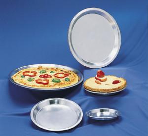 "Pie Pan, standard, 13"", Aluminum"