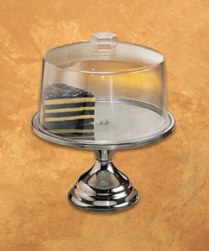 "Cake Pastry Pizza Stand, 13-1/2"" dia."
