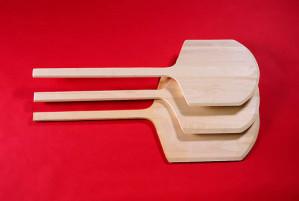 Pizza peel, Wood, Long handle, 14 x 15