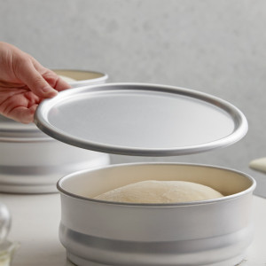 """8"""" Cover for dough retarding proofing pan"""