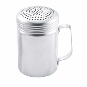 Dredge, Shaker, 10 oz, Aluminum, w/ handle