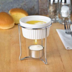 Butter warmer melter, Ceramic pan