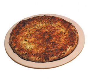 "13"" Round Pizza Stone, Dishwasher Safe, Ceramic"