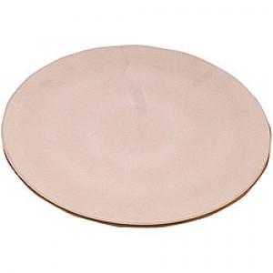 """15"""" Round Pizza Stone, Dishwasher Safe, Ceramic"""