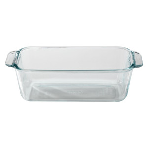 Glass bread & Loaf Pan, 1.5 qt