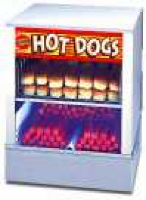 Hot Dog Steamer & Bun Warmer