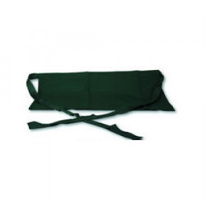 Waist Apron, 3 Pocket, Hunter green