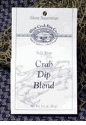 Crab dip blend, .5 oz