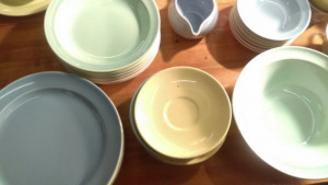 "Lu-RAY Pastels 9"" Dinner Plate"