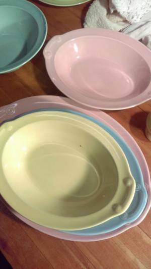 """Lu-RAY Pastels 13.5"""" Platter"""