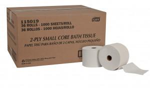 Toilet paper, 2 ply 36 rolls per case